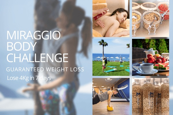 BODY CHALLENGE at Miraggio Thermal Spa Resort